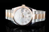 Rolex Datejust (36mm) Ref.: 116201 in Stahl-Roségold mit Box & Wempe-Papieren aus 2009