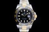 Rolex GMT-Master II (40mm) Ref.: 116713LN mit Box & Papieren (LC100) aus 2012