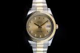 Rolex Datejust II (41mm) Ref.: 116333 in Stahl Gold & Diamantzifferblatt mit Box & Papieren aus 2015