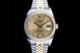 Rolex Datejust (36mm) Ref.: 116243 in Stahl-Gold mit Box & Papieren aus 2017 (LC10)