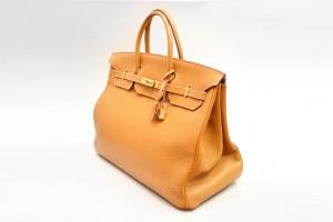Hermès Birkin Bag (40cm) Togo Braun mit OVP aus 2004