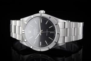Rolex Air-King (34mm) Ref.: 14000 aus 2000 mit schwarzem Zifferblatt