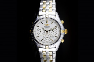 Breitling Shadow Flyback Chronograph (38mm) Ref.: B35312 in Stahl-Gold