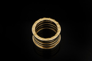 Bulgari B.Zero1 4 Band Ring (Gr. 53) | 18k Gelbgold