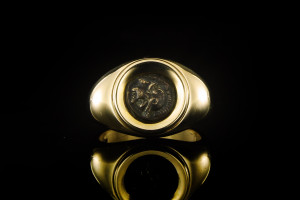 Bulgari Monete Ring (Gr. 55) | 18k Gelbgold
