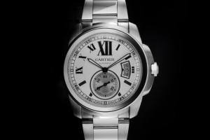 Cartier Calibre de Cartier (42mm) Ref.: WSCA0005 in Edelstahl mit Box & Papieren aus 2015