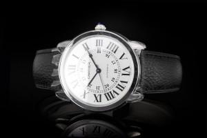 Cartier Ronde Solo (42mm) Ref.: WSRN0022 in Edelstahl mit Box & Papieren aus 2020