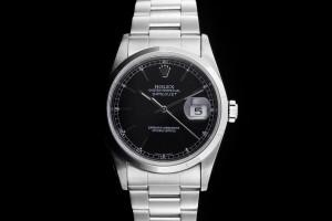 Rolex Datejust (36mm) Ref.: 16200 mit Zifferblatt Schwarz aus 2005
