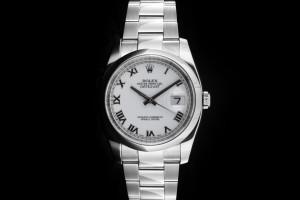 Rolex Datejust (36mm) Ref.: 116200 in Edelstahl mit Box & Papieren aus 2006 (LC100)