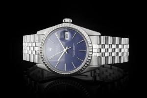 Rolex Datejust (36mm) Ref.: 16030 mit blauem Zifferblatt