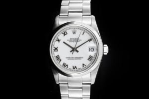 Rolex Datejust Medium (31mm) Ref.: 68240 mit weißem Zifferblatt aus ca. 1997