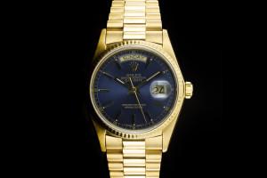 Rolex Day-Date (36mm) Ref.: 18038 in 18k Gelbgold mit Box & Papieren aus 1978
