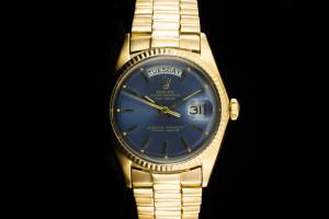 Rolex Day-Date (36mm) Ref.: 1803 Non Quick mit Blauem Zifferblatt aus 1969