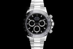 Rolex Daytona (40mm) Ref.: 116500LN Black Dial mit Box & Papieren aus 05/2017 (LC100)