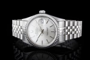 Rolex Datejust (36mm) Ref.: 16030 mit Zifferblatt in Silber