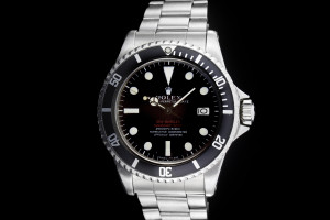 Rolex Sea-Dweller (40mm) Ref.: 1665 Double Red Mark II, Thin Case, Pat. Pend. Clasp, Light Tropical aus 1967