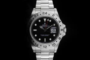Rolex Explorer II (40mm) Ref.: 16570 mit schwarzem Zifferblatt aus 2009