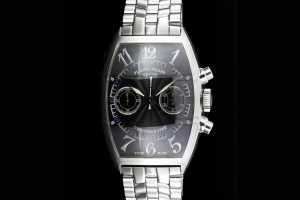 Franck Muller Master Of Complications Casablanca Chronograph (30x45mm) Ref.: 5850C CC in Edelstahl mit Box & Papieren aus 2001