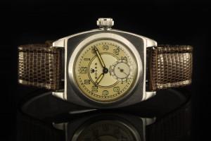 Rolex Oyster Perpetual Viceroy (29mm) Ref.: 1573 mit Leder-Band und Plexiglas aus den 1940ern