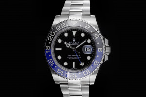 Rolex GMT-Master II (40mm) Ref.: 116710BLNR Batman Box & Papiere (LC 100)