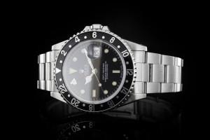 Rolex GMT-Master (40mm) Ref.: 16700 mit schwarzer Lünette aus 1992