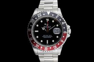 Rolex GMT-Master II (40mm) Ref.: 16710 mit Rot-Schwarzer Lünette aus 2000