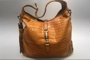 Gucci New Jackie Croco Handtasche