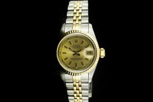 Rolex Lady Datejust (26mm) Ref.: 69173 in Stahl-Gold Box & Papiere aus 1990