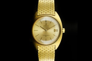 OMEGA Constellation (35mm) Automatik in 18k Gelbgold