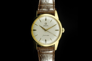 OMEGA Seamaster Automatic (34mm) in 18k Gelbgold
