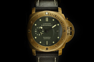 Panerai Luminor Submersible 1950 Bronzo (44mm) PAM00382 mit Box & Papieren aus 2012