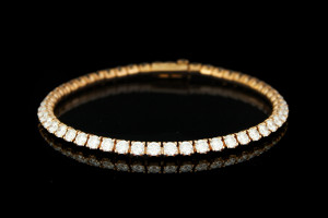Cartier Tennisarmband in 18k Roségold
