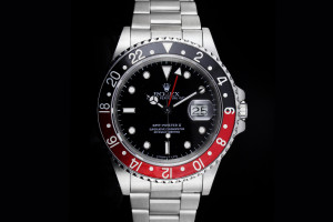 Rolex GMT-Master II (40mm) Ref 16760 Fat Lady original Papiere 1987