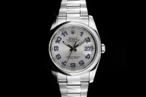Rolex Datejust (36mm) 116200 in Edelstahl Box & Papieren 2012 (LC100)