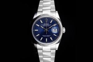 Rolex Datejust (36mm) Ref.: 126234 mit blauem Zifferblatt aus 2021