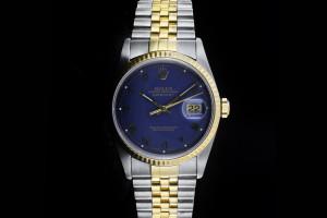 Rolex Datejust (36mm) Ref.: 16233 in Stahl-Gold mit Jubilé-Band aus 1991