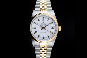 Rolex Datejust Medium (31mm) Ref.: 68273 in Stahl-Gold Papiere aus 1986