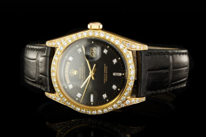 Rolex Day-Date (36mm) Ref.: 1803 in 18k Roségold & Diamantbesatz aus 1972