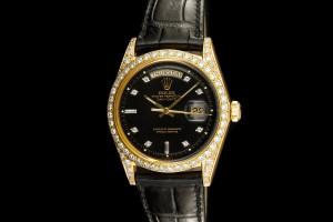 Rolex Day-Date (36mm) Ref.: 1803 in 18k Gelbgold & Diamantbesatz aus 1972