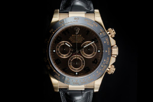 Rolex Daytona (40mm) Ref.: 116515LN Chocolate Brown mit Box & Papieren (LC100) aus 2014