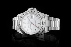 Rolex Explorer II (40mm) Ref. 16570 Box & Papiere (LC100) 2010 Cal. 3186