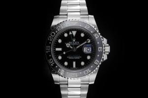 Rolex GMT-Master II (40mm) Ref.: 116710LN mit Box & Papieren (LC100) aus 2017
