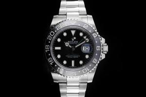 Rolex GMT-Master II (40mm) Ref. 116710LN Box & Papieren (LC100) aus 11/2018