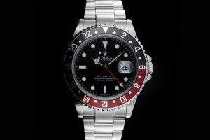 Rolex GMT-Master II (40mm) Ref.: 16710T Coke Stick Dial No Holes aus 2005