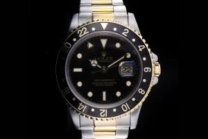 Rolex GMT-Master II (40mm) Ref.: 16713 in Stahl-Gold aus 1991