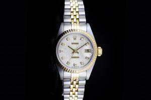Rolex Lady Datejust (26mm) Ref.: 69173 in Stahl-Gold mit Jubilée Diamantzifferblatt aus 1997