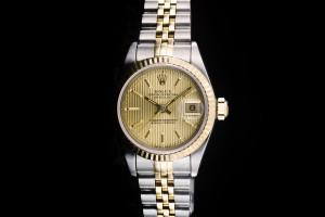 Rolex Lady Datejust (26mm) Ref.: 69173 in Stahl-Gold mit Papieren (LC100) aus 1994