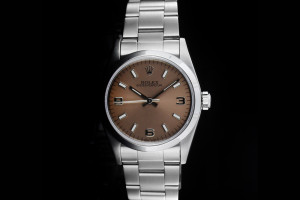 Rolex Oyster Perpetual Medium (31mm) Ref.: 67480 mit Oyster-Band aus 1997