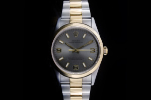 Rolex Oyster Perpetual (34mm) Ref.: 14203 in Stahl-Gold mit Oyster-Band aus 1998