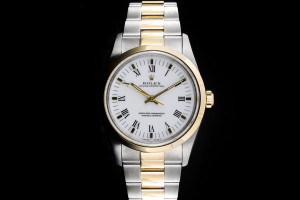 Rolex Oyster Perpetual (34mm) Ref.: 14203 in Stahl-Gold mit Oyster-Band aus 1993